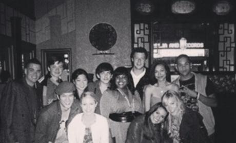 Lea Michele Shares Flashback Photo, Pays Tribute to Glee