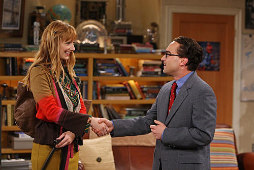 Judy Greer on Big Bang Theory