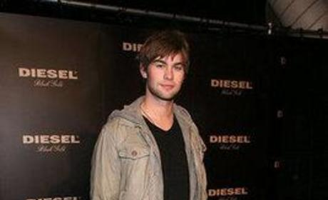 Chace Crawford at New York's Fashion Week