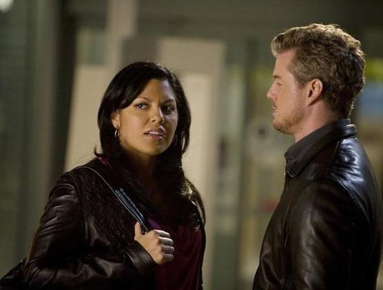 Mark Sloan and Callie Torres