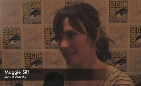 Maggie Siff Comic-Con Interview