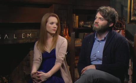 Seth Gabel and Tamzin Merchant Interview