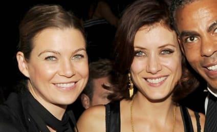 Ellen Pompeo and Kate Walsh in Las Vegas