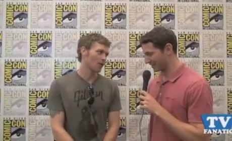 Joseph Morgan Exclusive: Does Klaus Have a Heart?