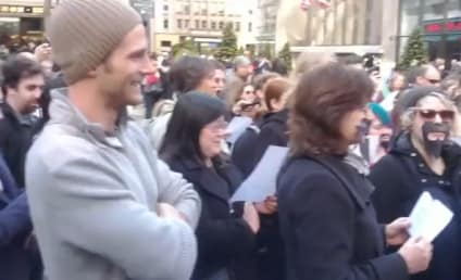 Video: Community Flash Mob Occupies NBC