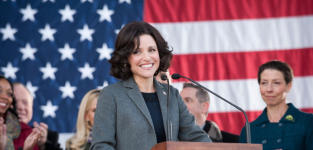 Julia Louis Dreyfus as Vice President Selina Meyer -- Veep