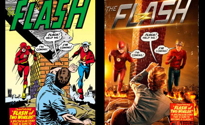 The Flash First Look: Teddy Sears as Jay Garrick!!
