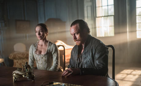 Flint and Miranda Discuss the Future - Black Sails Season 2 Episode 9