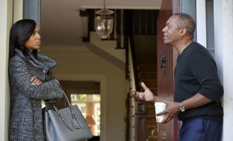 Olivia Visits Her Dad - Scandal Season 4 Episode 3