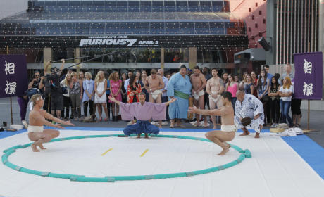 Sumo Wrestling! - The Bachelorette