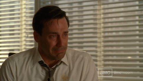 Don Draper in Tears