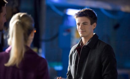 Grant Gustin on Arrow: First Look!