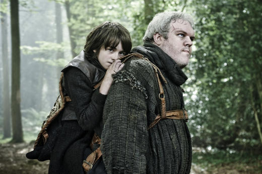 Hodor and Bran - Game of Thrones