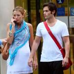 A Penn Badgley and Blake Lively Picture