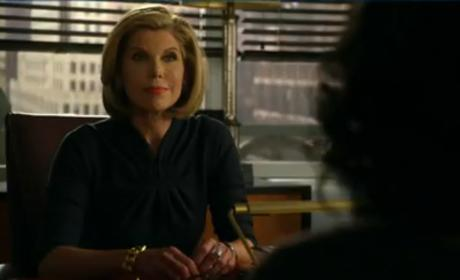 The Good Wife Teaser: Diane Knows!