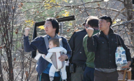 Heroes Spoiler Pic: Hiro and... Baby Parkman?!?