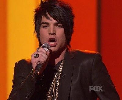 Adam Lambert Audition Photo