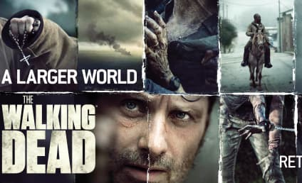 The Walking Dead Key Art: Welcome to a Larger World