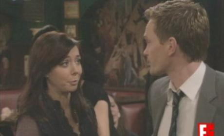 Lily Comforts Barney