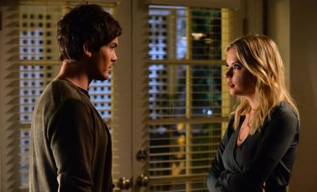 Arms Folded - Pretty Little Liars Season 5 Episode 22