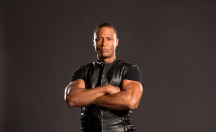Arrow Sneak Peek: New Photos of Diggle Fully Suited Up!