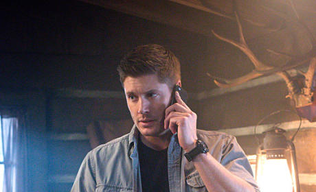 Dean on the Phone - Supernatural Season 10 Episode 15