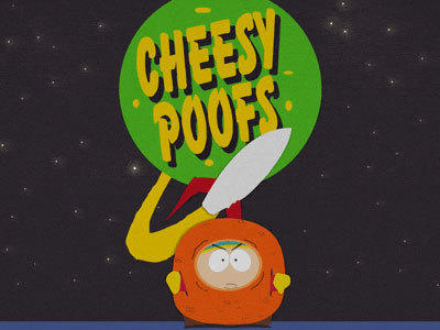 Cartman and Cheesy Poofs