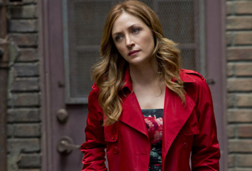 Sasha Alexander on Isles