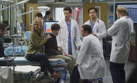 Alex Mentors New Interns - Grey's Anatomy Season 12 Episode 3