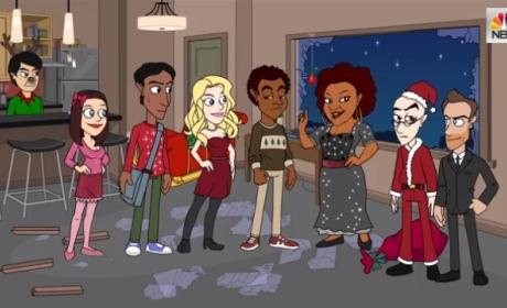 Community Rings in Season 5, Christmas with Special Animated Short