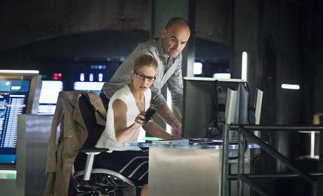 Back to work - Arrow Season 4 Episode 22