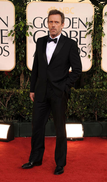 Hugh Laurie at the Globes