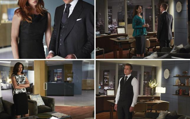 Sharing with harvey suits s4e9