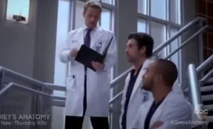 Grey's Anatomy Sneak Peeks: Love Is Not in the Air