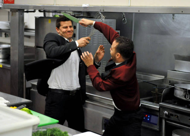 Food Fight, Bones Style!