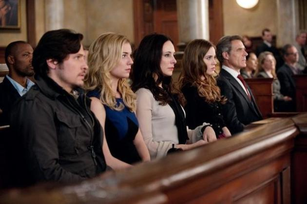 Revenge Characters in Court