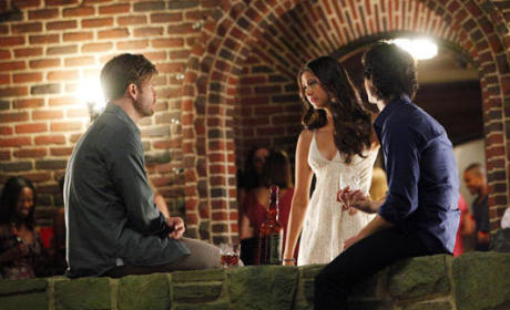 Elena, Alaric and Damon