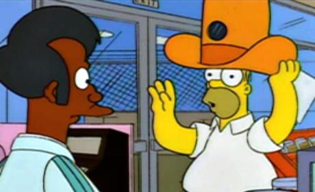 Homer and Apu Picture