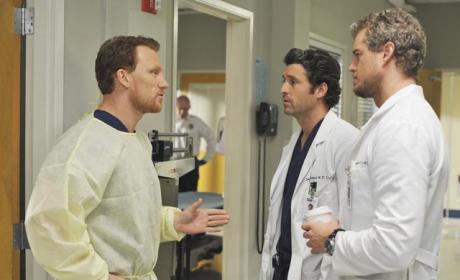Kevin McKidd Discusses Dr. Owen Hunt, Grey's Anatomy