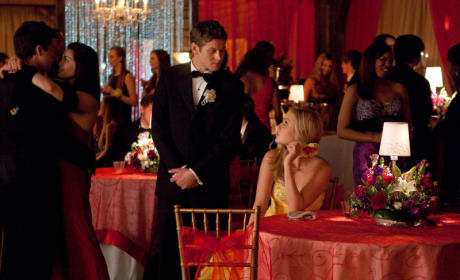 Matt and Rebekah at the Prom