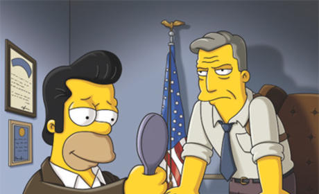 Jon Hamm on The Simpsons: First Look
