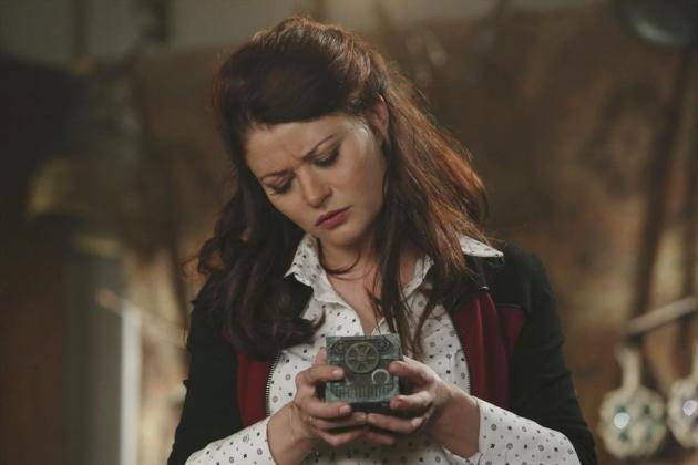 Belle Finds the Artifact