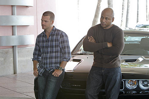 Partners Sam and Callen