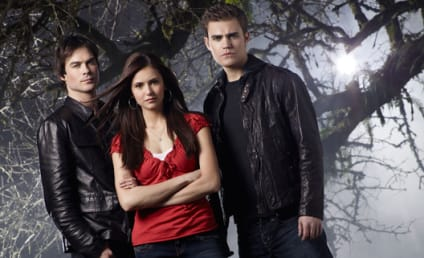 The First Vampire Diaries Cast Picture