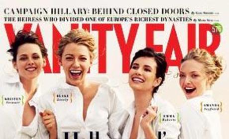 Blake Lively in Vanity Fair