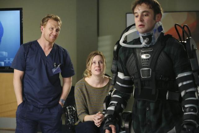 Dr. Hunt Looks Happy