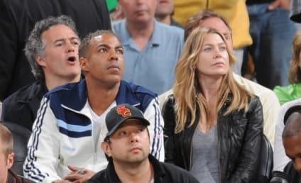 Ellen Pompeo, Chris Ivery Cheer on Celtics