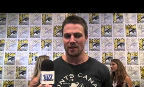 Stephen Amell Comic-Con Exclusive