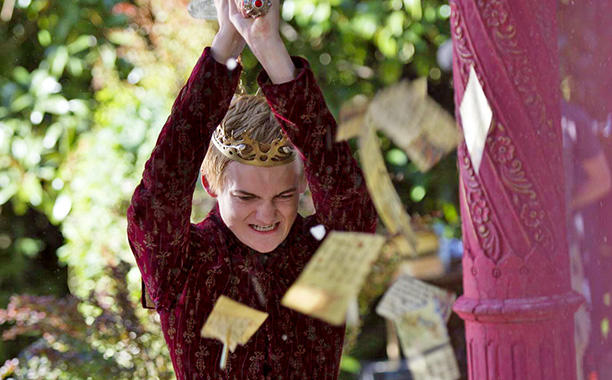 King Joffrey with a Sword