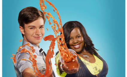 Glee Promo Pics: Attack of the Slushees!
